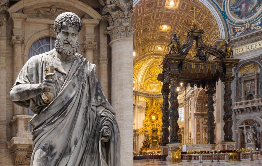 Tento obrázok nemá vyplnený ALT popisok, jeho názov je baldachyn-a-socha-sv-petra-m.jpg