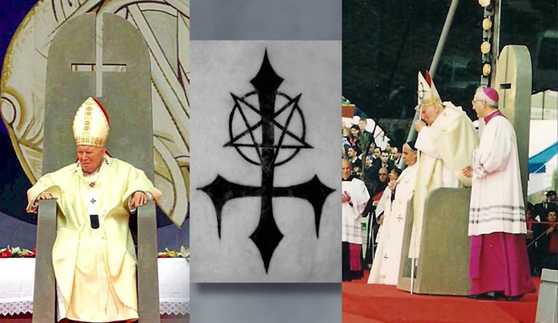 This image has an empty alt attribute; its file name is obrateny-kriz-jan-pavol-ii-antikrist-izrael-2000.jpg